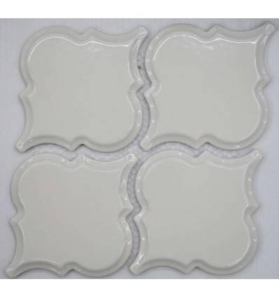 LIYA Mosaic Porcelain Arabesko Bevel Beige 160 мозаика керамическая