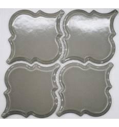 LIYA Mosaic Porcelain Arabesko Bevel Grey 160 мозаика керамическая