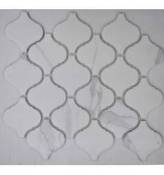 LIYA Mosaic Porcelain Arabesko Carrara 74 мозаика керамическая