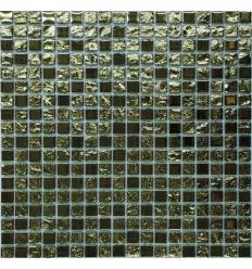 LIYA Mosaic Luxury Gold 15 стеклянная мозаика
