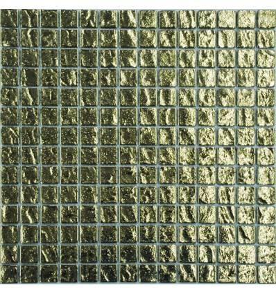 LIYA Mosaic Gold Brick 20 стеклянная мозаика