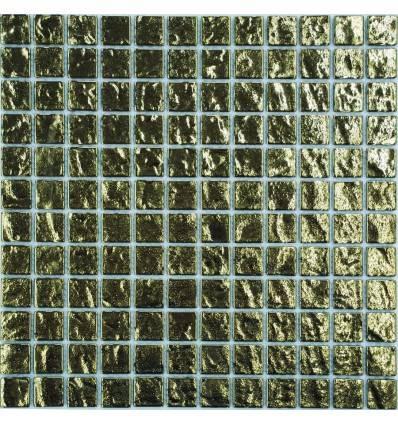 LIYA Mosaic Gold Brick 23 стеклянная мозаика