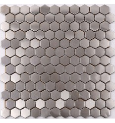 LIYA Mosaic Hexagon Metal плитка-мозаика из металла