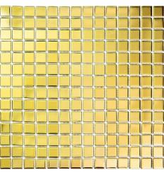 LIYA Mosaic Gold Glossy 20 стеклянная плитка-мозаика