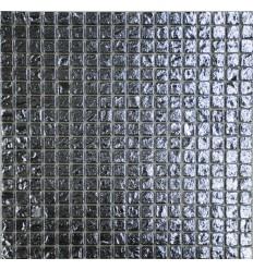 Silver Brick 15 стеклянная мозаика