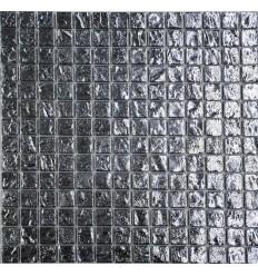 Silver Brick 20 стеклянная мозаика