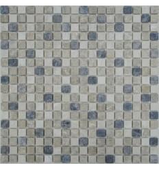 Mix Emperador 15-4T каменная мозаика