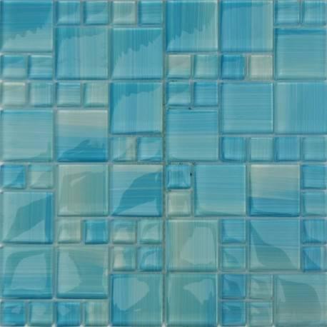 LIYA Mosaic Paint Crystal 8FX4807 стеклянная плитка-мозаика