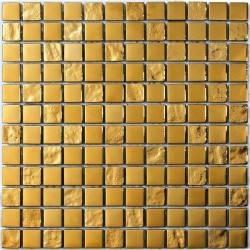 LIYA Mosaic Luxury Gold 23 стеклянная плитка-мозаика