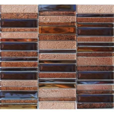 LIYA Mosaic H1002 стеклянная плитка-мозаика