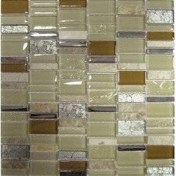 LIYA Mosaic Romantica микс стеклянной и каменной плитки-мозаики