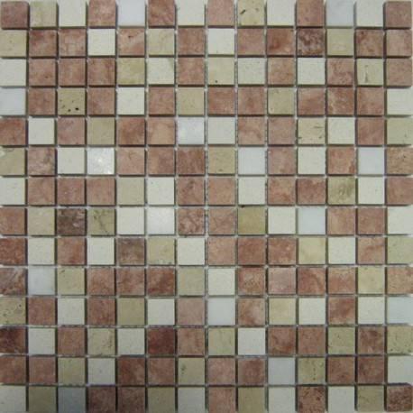 FK Marble Mix Pink Honed каменная плитка-мозаика