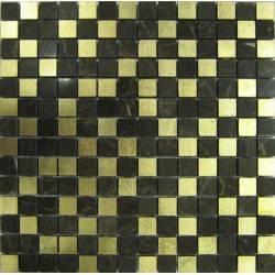 FK Marble Gold Leaf каменная плитка-мозаика