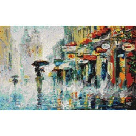 Панно PL101 Дождь