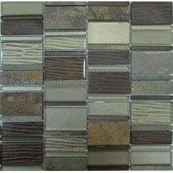 LIYA Mosaic Krit 3 микс стеклянной и каменной плитки-мозаики