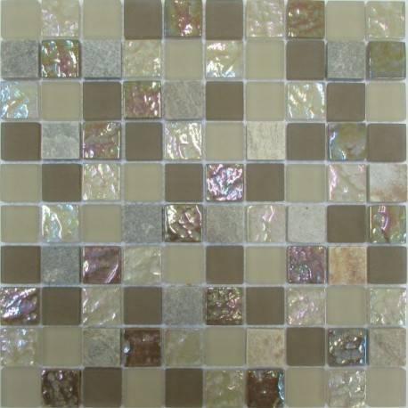 LIYA Mosaic Krit 4 микс стеклянной и каменной плитки-мозаики
