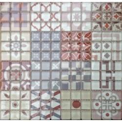 LIYA Mosaic Marrakesh 3 стеклянная плитка-мозаика