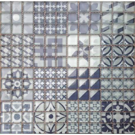 LIYA Mosaic Marrakesh 4 стеклянная плитка-мозаика