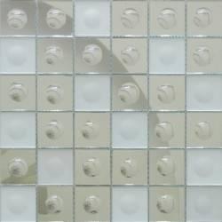 Зеркальная мозаика Silver-M Round