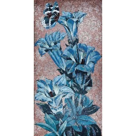 Панно Blue Flowers