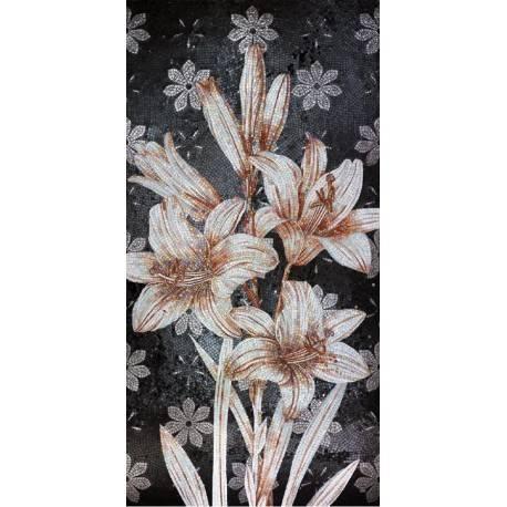 Панно Black Flower