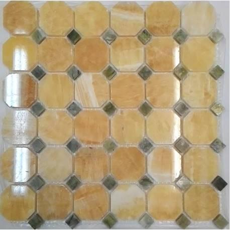 FK Marble M073+M068-BP каменная плитка-мозаика