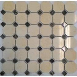 FK Marble M025+M052-BP каменная плитка-мозаика
