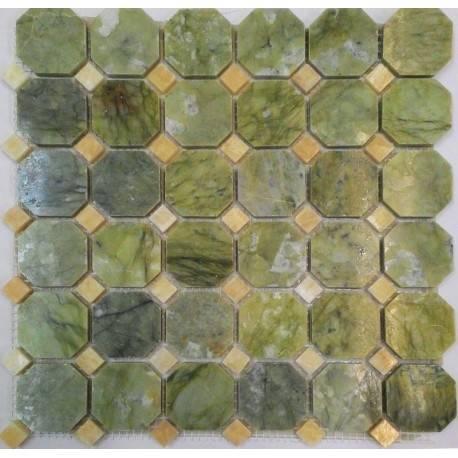 FK Marble M068+M073-BP каменная плитка-мозаика