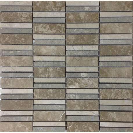 FK Marble Stripes Beige каменная плитка-мозаика