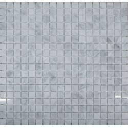 FK Marble Bianco Carrara 15-4P каменная плитка-мозаика
