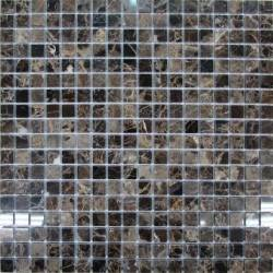 FK Marble Emperador Dark 15-4P каменная плитка-мозаика