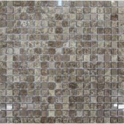 FK Marble Emperador Light 15-4P каменная плитка-мозаика