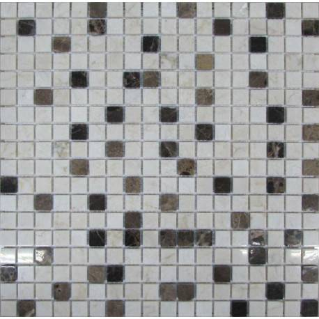 FK Marble Mix Coffee 15-4P каменная плитка-мозаика