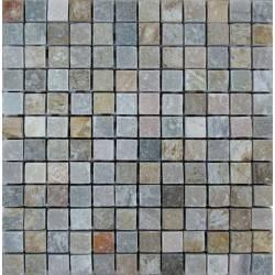 FK Marble Slate Grey 23 плитка-мозаика из сланца