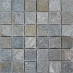 FK Marble Slate Grey 48 плитка-мозаика из сланца