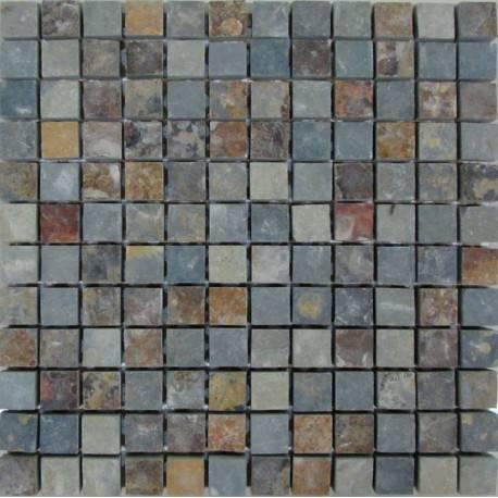 FK Marble Slate Rusty 23 плитка-мозаика из сланца