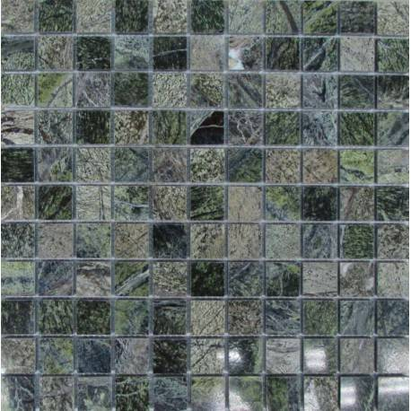 FK Marble Bidasar Green 25 каменная плитка-мозаика