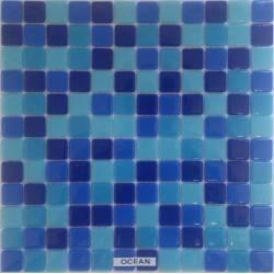 Safran Mosaic Ocean стеклянная плитка-мозаика
