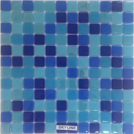 Safran Mosaic Skyline стеклянная плитка-мозаика