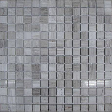 FK Marble White Wooden 20-4P каменная плитка-мозаика