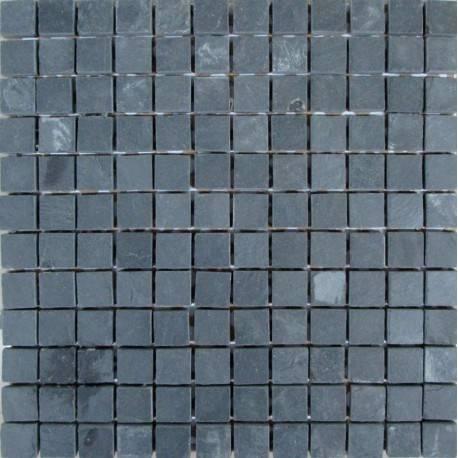 FK Marble Slate Black 23 плитка-мозаика из сланца