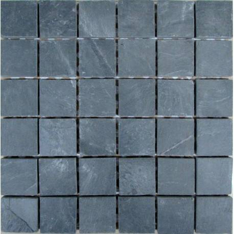 FK Marble Slate Black 48 плитка-мозаика из сланца