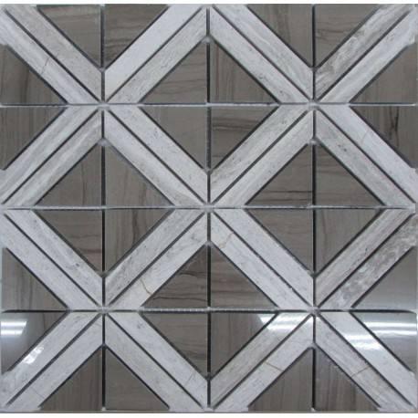 FK Marble Romb Grey каменная плитка-мозаика