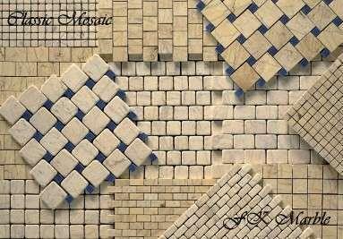 Мраморная мозаика Classic Mosaic от FK Marble